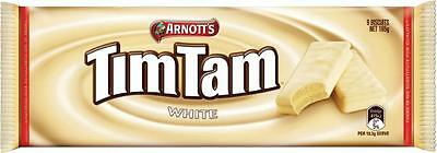 Arnott's Tim Tam Chocolate 165g (White)