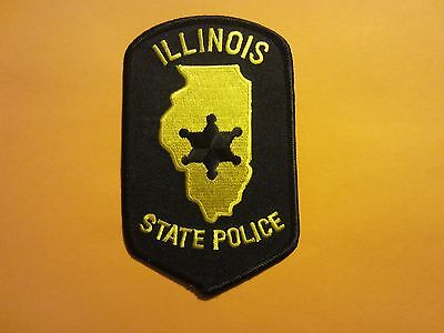 Collectible Illinois State Police Patch New
