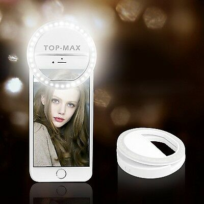 TOP-MAX Selfie Ring Light 36 LED Photography Supplementary lighting Phone Lig...