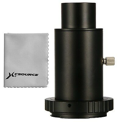 XCSOURCE T-Ring + 1.25 inch Telescope Mount Adapter + Extension Tube for Niko...