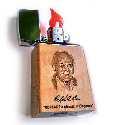 """Zippo ROSEART """"RALPH A. ROSE 75th BIRTHDAY"""" Limited Edition 25 Signed MEGA RARE!"""
