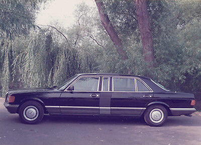 Mercedes Benz Limousine Colour Photograph.