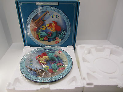 NEW - Disney 3-D Collector Plate - The Little Mermaid Animated Classic