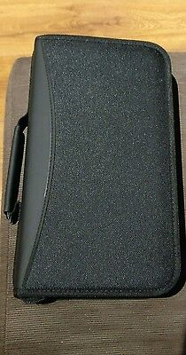 BLACK ZIP DVD WALLET CASE 96 POCKETS CD  Blu Ray Disc Carry Large