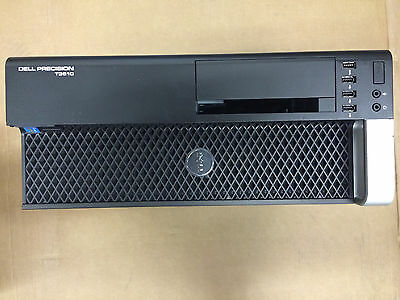 Genuine Dell Precision T3610 Metal Empty Case with internal Fan & Cables F5G1H