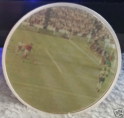 3D England 1966 World Cup Winners Silver Coin Video Goal Russia 2018 Goal Action