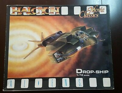 Halcyon Aliens 1/72 Scale Dropship model kit + Very Rare M553 Resin APC included
