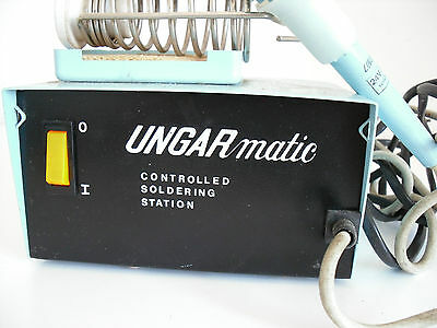 Ungarmatic Controlled Soldering Station.