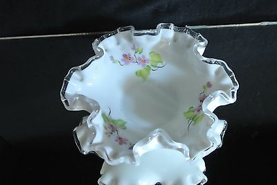 Vintage Signed Fenton Candy Dish