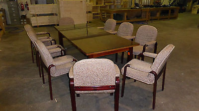Boardroom Meeting Table and 9 chairs