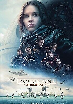Rogue One A Star Wars Story Movie Poster A6+A4+A3+Framed+Super A3 Print Stunning