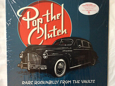 Pop The Clutch: Rare Rockabilly From The Vaults White Vinyl LP
