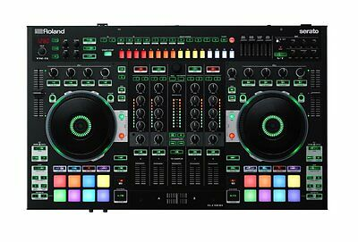 Roland DJ-808 mint Professional DJ Controller w/ Built in 4-channel mixer