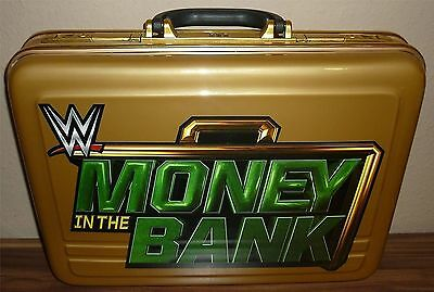 Replica WWE Wrestling MONEY IN THE BANK KOFFER Briefcase ACTUAL SIZE wwf tna nxt