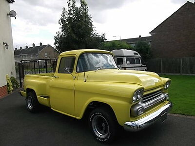 SOLD 1958 Chevy Pick up 283 / V8, Step Side, Chevrolet, Real Eye Catcher SOLD