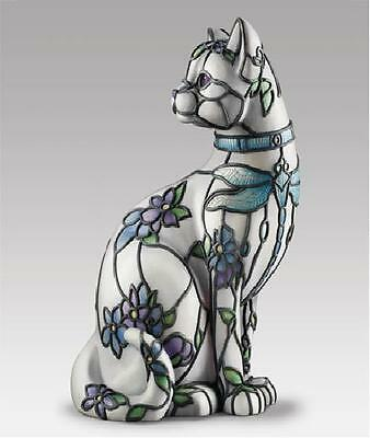 Sophisticat Accent Lamp Cat Kitty Figure Lamp Tiffany Inspired