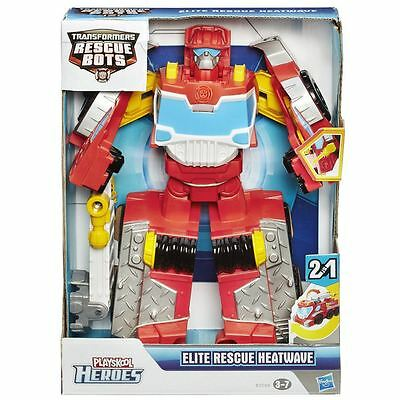 Transformers Rescue Bots Elite Heatwave robot fire engine truck