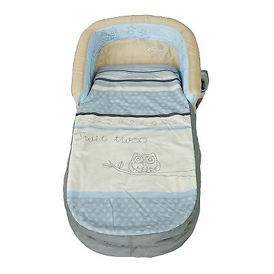 Sleepytime Owl My First ReadyBed - Toddler Airbed and Sleeping Bag in one