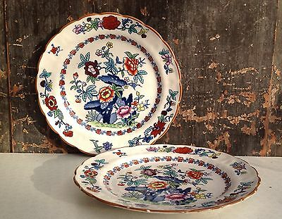 Booths Pompadour 2 small plates from the early 1900s
