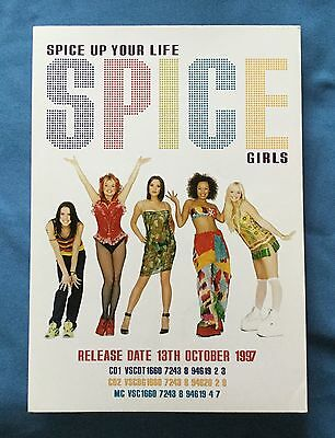 Unique - Spice Girls 'spice Up Your Life' Single -  Retail Sales Presenter 1997