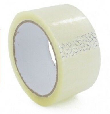 Job Lot 288x Clear Packaging Tape 48mmx66m Clearance Wholesale