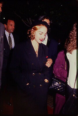44 35mm Color Photo Slide Pictures of Madonna & Alek Keshishian - 1991