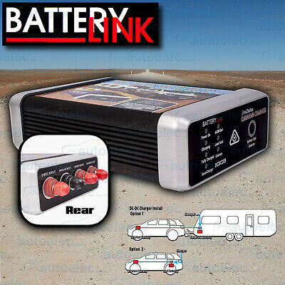Thunder Smart Dc To Dc Dual Battery Charger 20A Amp 12V Volt Agm Caravan + Solar