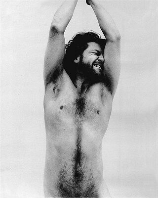 KENNETH BRANAGH HAIRY CHEST SHIRTLESS beefcake bw photo(75)
