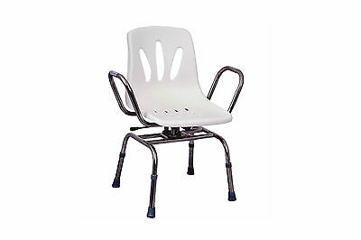 Swivel Shower Chair With Back And Arms , Mhsc