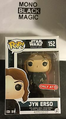 Funko Pop! Star Wars Rogue One JYN ERSO #152 Imperial Pilot Target Exclusive