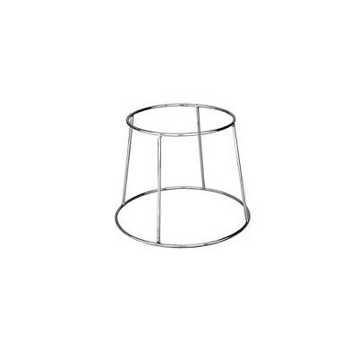 6x Platter Stand, Chrome Plated, 190x250x190mm, Display / Pizza Plate / Cafe