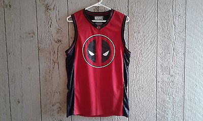 Marvel Deadpool #91 shirt basketball jersey small 34/36