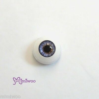 Mimi Colletion 1/6 Dollfie 27cm Obitsu Doll Acrylic Plastic Eye Purple 8mm