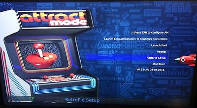 RetroPie Attract Mode 64 gb Micro SD card fully loaded P&P+ kodi