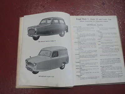 reliant regal commercial vehicle mark 3,4,5 and 6 owners workshop manual