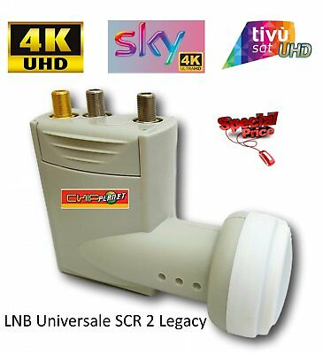 Lnb Scr + 2 Legacy Out Sky Tested