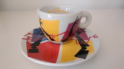 PEDRO ALMODOVAR collection 2009 cup caffe illy  signed art collection