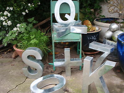 Large Industrial Metal Letters .Shop Signs