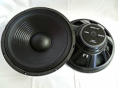 "38cm 15"" PA - Bass speakers 380mm woofer SoundLab L042Q Subwoofer Snapper"