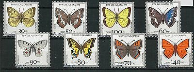 60847 -  GERMANY - STAMP with MUNSTER overprint 1991 -   SPECIMEN: BUTTERFLIES