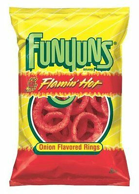 Funyun's Flamin' Hot Onion Flavored Rings, 6.5 Oz Bags (Pack of 6)