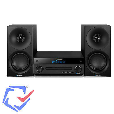 Impianto Nero (Lettore CD, MP3, USB, Bluetooth, Display LCD) Blaupunkt MS30bt