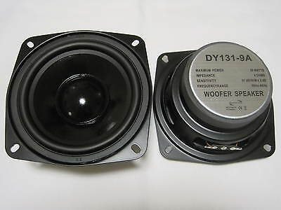 "1x DY-131-9A Dynavox 13cm 5"" Bass Speaker 130mm Subwoofer 4Ohm"
