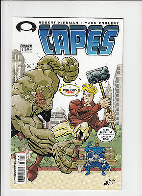 Capes #1 Image 2003 Walking Dead #1 preview!  Kirkman!  vf/nm