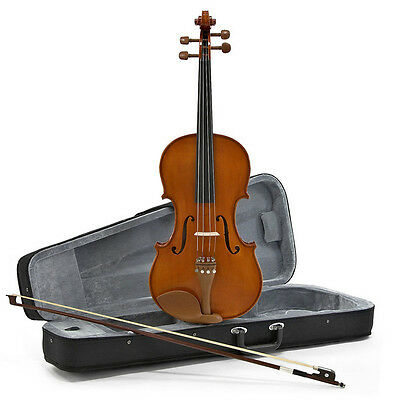 New Deluxe Viola by Gear4music, 16.5 Inch