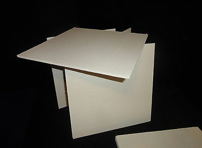"""FOUR (4) KAOWOOL THERMAL INSULATION BOARD """"M"""" GRADE 12"""" x 12"""" x 1/4"""" T.  No. 306"""