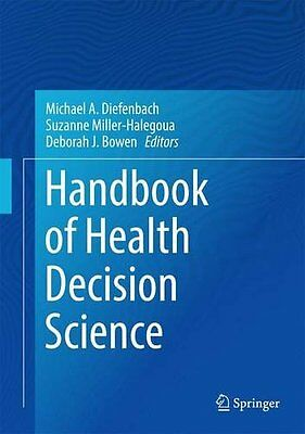 Handbook of Health Decision Science Copertina rigida
