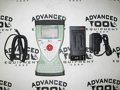 LEICA CS15 Viva Field Controller & New Charger FOR GNSS GPS GS15 TOTAL STATION