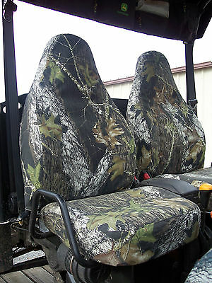 John Deere 625i-825i-855D Gator Sport Seat Covers - Camo or Solid -AMERICAN MADE