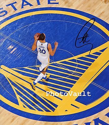 Golden State Warriors Steph Curry Signed 8x10 Photo Reprint Autographed RP #5